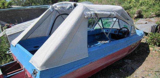 Тент своими руками на лодку казанка м