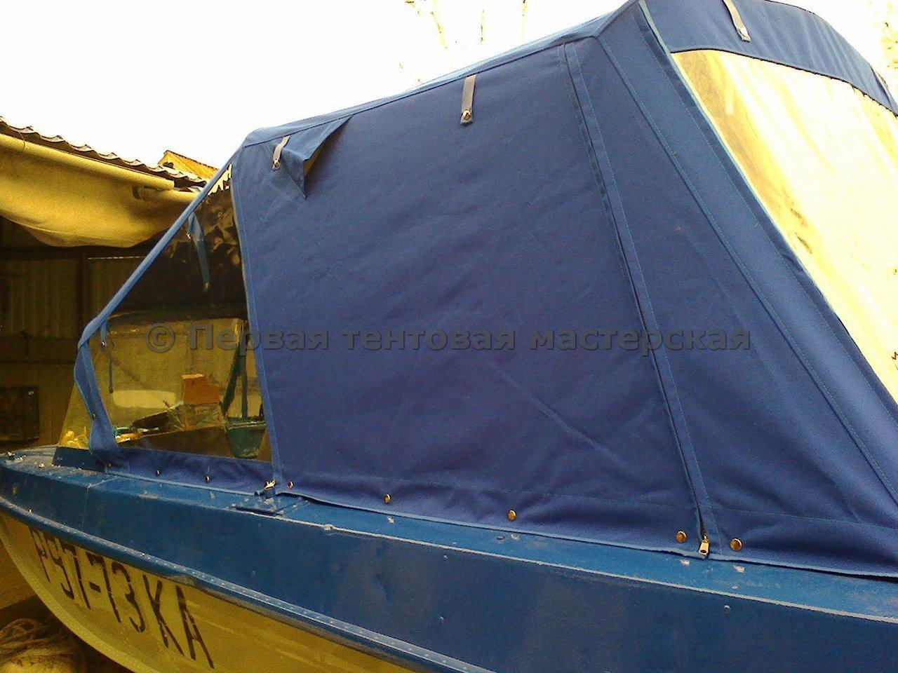 тент для лодки пвх на заказ