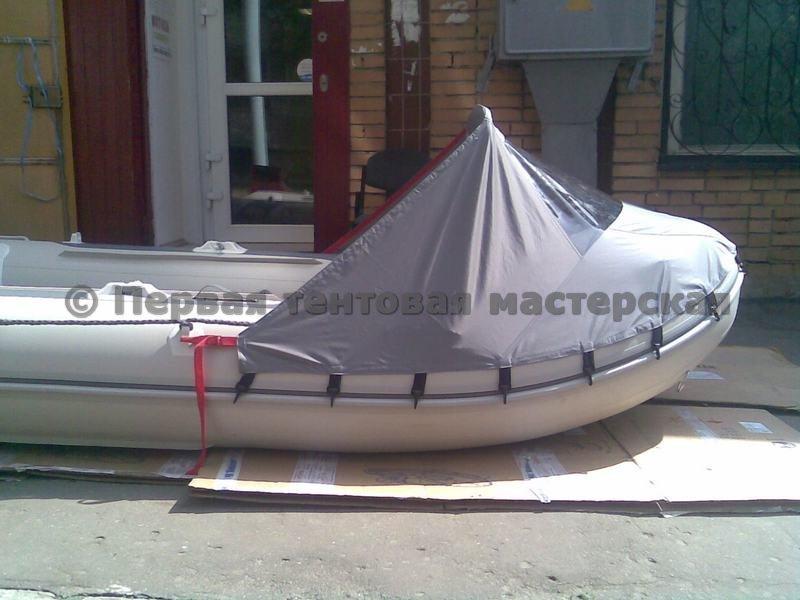 самодельный тент на лодку фото